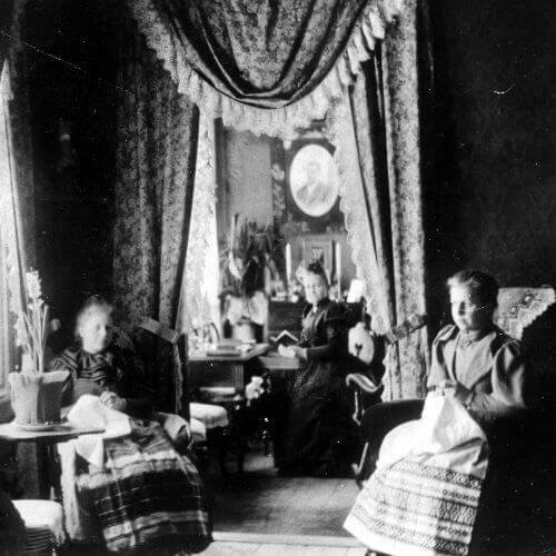 Bruzaholm Salongen 1895