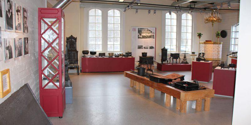 Interiör Från Bruzaholms Bruksmuseum